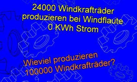 Die Aktuelle Energiepolitik ist für den Standort Deutschland selbstmörderisch