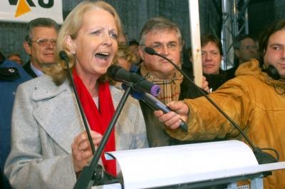 """NRW-MP Hannelore Kraft erkundete """"gefährliches Fracking"""" per Dienstreise nach Kanada"""