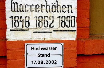 Aus aktuellem Anlass: Deutsche Hochwasser- und Niederschlagschronologien