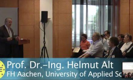 Teil IV Videos von der VII. IKEK Mannheim jetzt verfügbar: heute Prof. Helmut Alt
