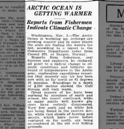 Globale Erwärmung in der Arktis
