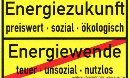 Die Abrechnung mit der Energiewende