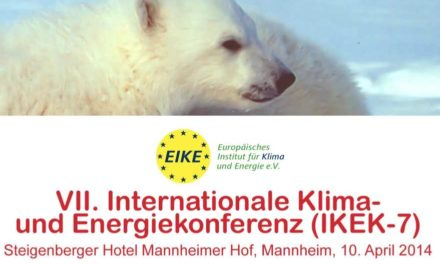 VII. Internationale Klima- und Energiekonferenz (IKEK-7) Steigenberger Hotel Mannheimer Hof, Mannheim, 10. April 2014