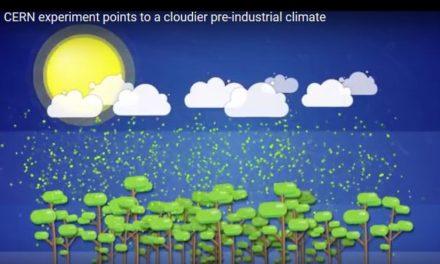 CERN CLOUD-Experiment: Industrielle Revolution reduzierte die Wolkenbedeckung. Auch kosmische Strahlen haben Einfluss