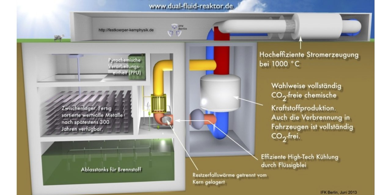 "EIKE 9. IKEK-Dr. Armin Huke – Der Dual Fluid Reaktor – Die zukünftige ""alternative"" Energieerzeugung?"