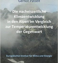 Buchtipp: Die nacheiszeitliche Klimaentwicklung in den Alpen im Vergleich zur Temperaturentwicklung der Gegenwart