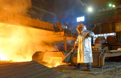 Stahl vor dem großen Exodus