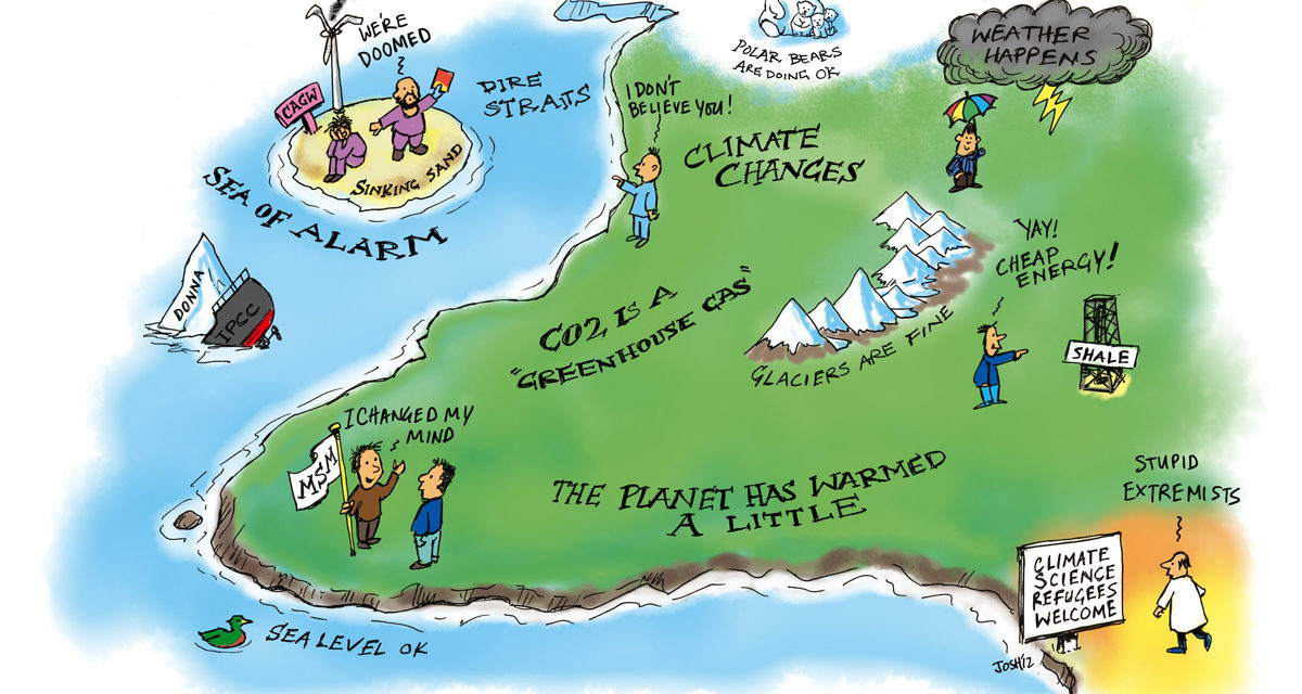 Neue EU-Umfrage: Nur 4% der Europäer denken, dass der Klimawandel ein wichtiges Thema für die Europäische Union ist