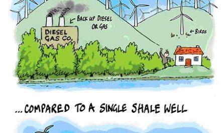 Nur Fracking kann in Groß Britannien die Energielücke schließen