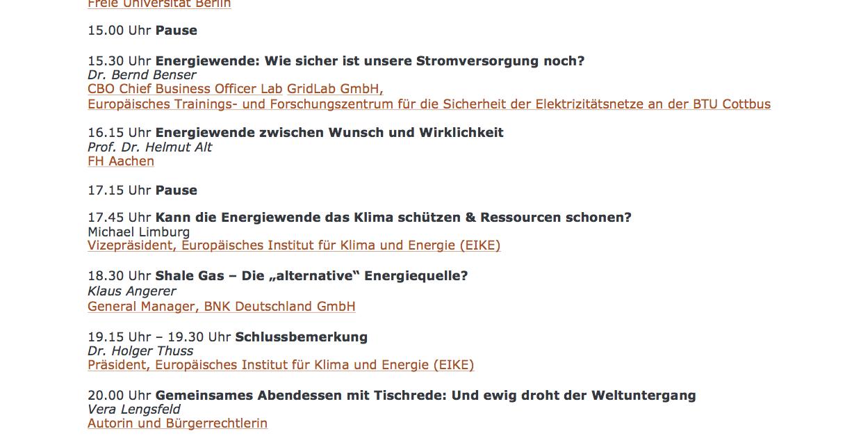 Einladung zum 1. Hamburger Klima- und Energiegespräch