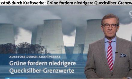 """Medienmeldung am 3.1.16: Kraftwerke stoßen zu viel Quecksilber aus – doch kein Wort zu den zig Millionen """"Energiesparlampen"""" deren Quecksilber jedes Jahr in die Umwelt gelangt."""