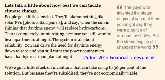 Obamas Erneuerbare Energie Fantasien