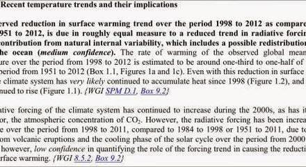 """Aktualisierte Liste mit 66 Entschuldigungen für den 18 bis 26-jährigen """"Stillstand"""" der globalen Erwärmung"""