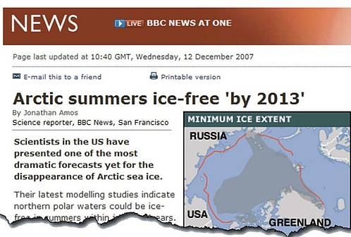 Erholung des arktischen Eises: Spitzenwissenschaftler sagen Periode globaler Abkühlung vorher