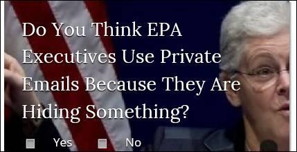 Mitarbeiter der EPA Umweltbehörde stützen sich auf private E-Mails um mit Lobbyisten zu kommunizieren
