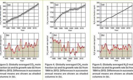 WMO: 2013 rekordhohe CO2-Zunahme – aber immer noch keine Erwärmung