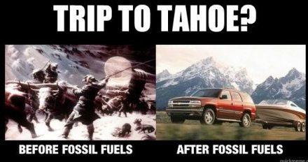 Warum fossile Treibstoffe den Planeten besser machen