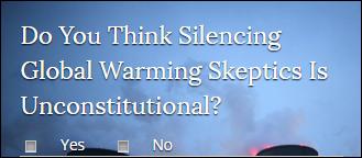 Keine Meinungsfreiheit für Klimaskeptiker – Demokraten in USA