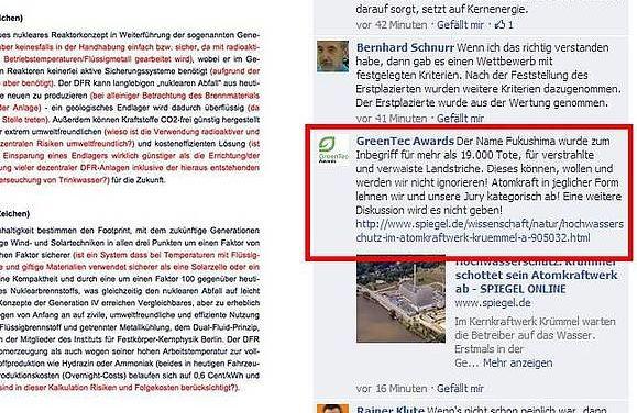 Skandal um GreeenTecAward- Gewinner inherent sicheres Kernkraft-Konzept unerwünscht!