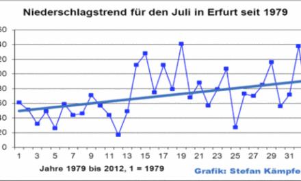 Der heiße, überwiegend trockene Juli 2013- (k)ein ungewöhnliches Ereignis?