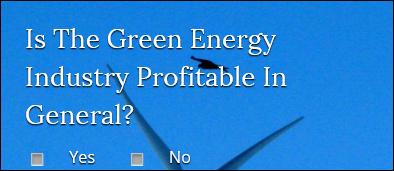 Das weltgrößte Grüne Energie Unternehmen geht Pleite entgegen