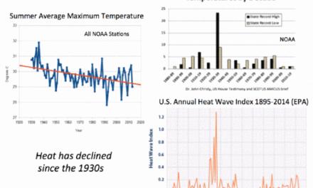 Klima: Der wirkliche ,besorgliche Trend'