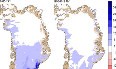Noch mehr Hype um das sommerliche Tauwetter in Grönland