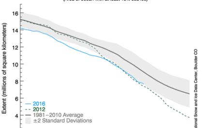 Professor Peter Wadhams wettet nicht auf seinem eigenen Vorhersagen zum Meeres-Eis