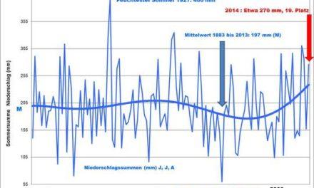 Sommer 2014 in Deutschland: Ungewöhnlich nass und schwül, zu heiß oder doch eher normal?