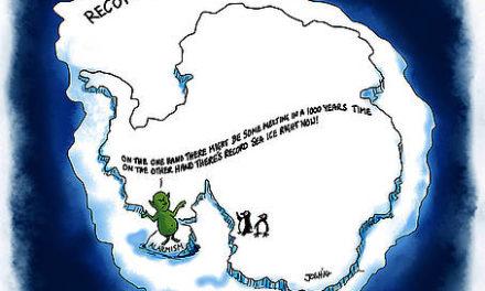 Medien hyperventilieren über Klimapropaganda aus der Westantarktis.