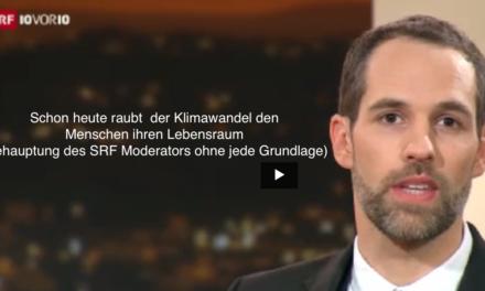 Es ist 10 vor 10: Zeit für falschen Klimaalarm im Schweizer Fernsehen