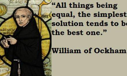 Sind Klima Vorhersagen immun gegen Ockham's Rasiermesser?