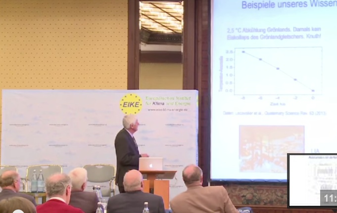 EIKE 8. IKEK Präzises Klima-Timing über die letzten 2500 Jahre  – Prof. Dr. Horst-Joachim Lüdecke