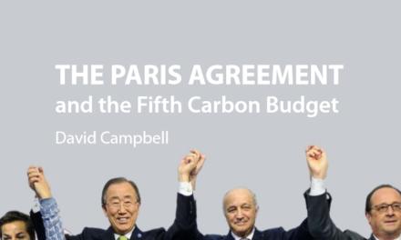 Pariser Abkommen: Ein Blankoscheck für CO2-Emissionen für China und Indien