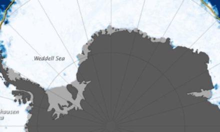 Allzeit-Eisrekord in der Antarktis!