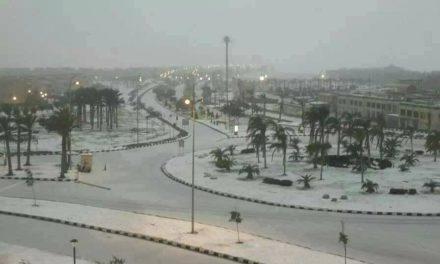 Extremwetter einmal anders: In Kairo fällt nach 112 Jahren wieder Schnee