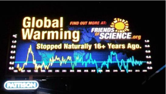 Globale Erwärmung: Eine große Herausforderung für Wissenschaft und Gesellschaft wurde von Friends of Science (FOS) effektiv angegriffen