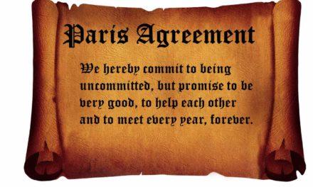 Einige Gedanken zur Sozio-Biologie der sogenannten Klimakonferenz in Paris.