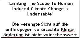 Kohlenstoffsteuer und Temperatur