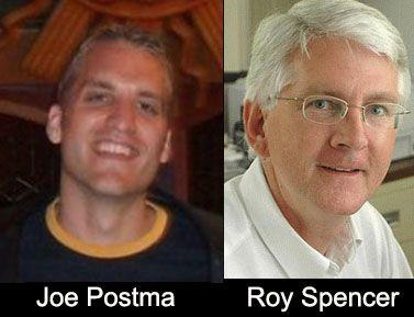 Pro & Kontra Treibhauseffekt: Austausch von Argumenten – Spencer versus Postma
