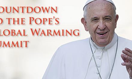 """Klimaskeptiker in Rom warnen Papst Franziskus vor einer """"unheiligen Allianz"""" mit der UN-Klima-Agenda"""