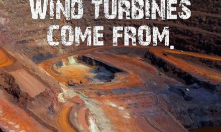 Windturbinen und 'schmutzige' Minen – Heuchelei bis zum Anschlag