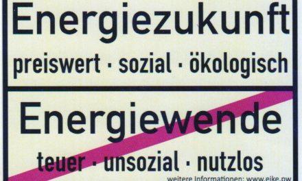 Umfrage: Nur 29 Prozent der deutschen Bevölkerung unterstützen die Energiewende (Universität Stuttgart)