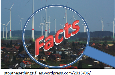 Wahrheit ist die beste Verteidigung gegen Windkraft