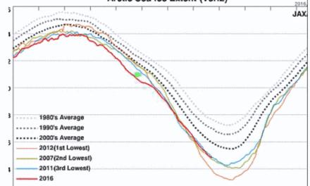 Die Erwärmung ist nicht global – Die meiste Erwärmung findet an den Polen statt