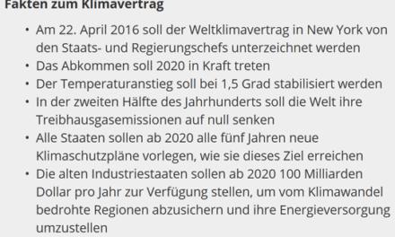 Klimavertrag von Paris im Bundestag erreicht 100 % Zustimmung. Die DDR Volkskammer lässt grüßen