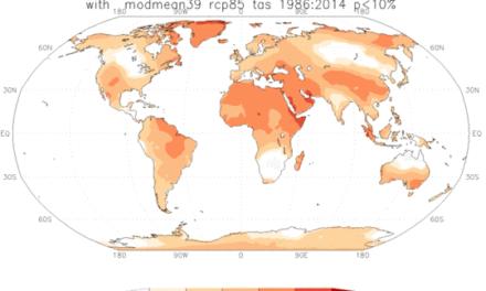 Prognoseleistung von Klimamodellen auf dem Prüfstand: Mehr als die Hälfte der Erde hält sich nicht an die Vorhersagen