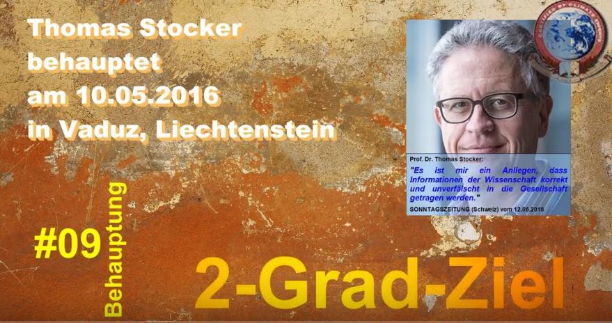 Video Teil 2 vom Klimamanifest von Heiligenroth zum Vortrag von Prof. Dr. Thomas Stocker in Vaduz im Mai 2016