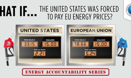 Was wäre … wenn die USA gezwungen wären Energiepreise wie in der EU zu zahlen?
