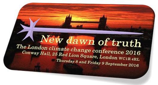 1. Geoethik Konferenz über Klimawandel – Wissenschaft und Geoethik am 8 & 9.9.16 in London